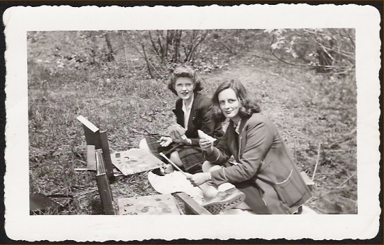 Jo Manning and Mary Ross c.1947