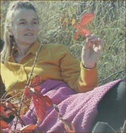 Eunice Fleming Oct. 1969 near Bracebridge